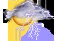 fortes pluies orageuses